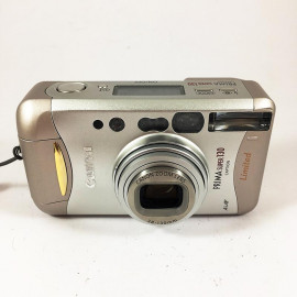 Canon Prima Super 130 analog film camera compact 35mm 38-130mm vintage