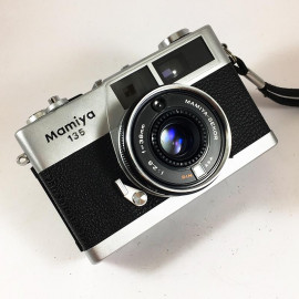 mamiya 135 vintage antique sekor 38mm 2.8 analog 1979 rangefinder compact camera