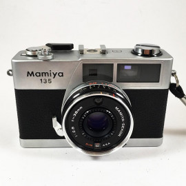 mamiya 135 vintage antique sekor 38mm 2.8 analog 1979 rangefinder compact camera