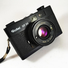 Rollei XF 35 Sonnar 40mm 2.3 compact film camera vintage antique 35mm 135