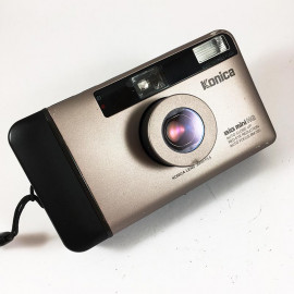 Konica big mini hg autofocus 35mm 3.5 antique vintage compact point and shoot camera