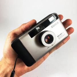 Konica big mini hg autofocus 35mm 3.5 antique vintage compact point and shoot camera