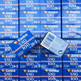 pellicule périmée argentique 35mm couleur konica SXG 100 2005 27 poses exp