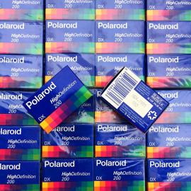 pellicule périmée argentique 35mm couleur polaroid hd prints 200 36 poses