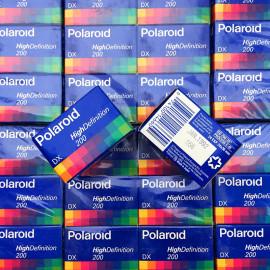 pellicule périmée argentique 35mm couleur polaroid hd prints 200 24 poses