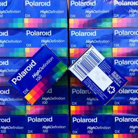 pellicule périmée argentique 35mm couleur polaroid hd prints 100 24 poses