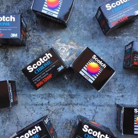 expired film vintage analog scotch chrome 800 3200 push processing color slide film 35mm