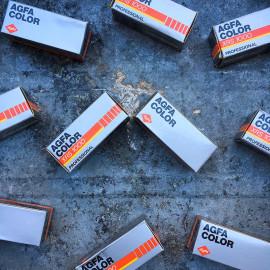 pellicule ancienne argentique agfa xrs 1000 color 1000 iso périmée couleur négatif iso
