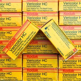 pellicule ancienne argentique kodak vericolor hc 100 color 100 iso périmée couleur négatif iso