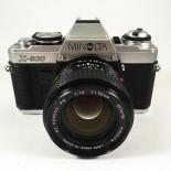 minolta x-500 50mm 1.4 rokkor reflex appareil argentique 35mm vintage ancien