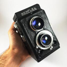 sem semflex otomatic 4.5 berthiot sem 75mm camera reflex tlr 6x6 analog 120 1950 black