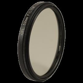 Filtre polarisant CPL circulaire rotatif 49mm 52mm 55mm 58mm reflet objectif optique photo