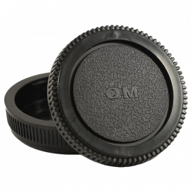 rear body cap plastic protection back lens lenses reflex camera photo analog mount olympus om om1 om2 om10