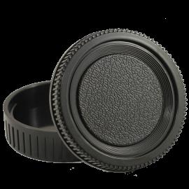 cache arrière objectif optique cache bouchon capuchon boitier intérieur reflex plastique minolta md srt 101 303 X300 X500 X700
