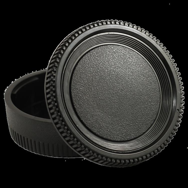 cache arrière objectif optique cache bouchon capuchon boitier intérieur reflex plastique nikon AI AIS FE FM Nikkormat FM2 F