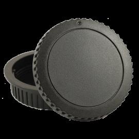 rear body cap plastic protection back lens lenses reflex camera photo analog mount Canon EOS