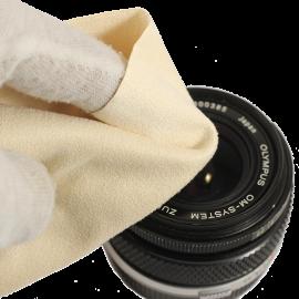 chiffon chamoisine nettoyage coton optique appariel objectif lentille