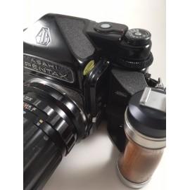 pentax 67 film 120 moyen format appareil photo argentique 1969 takumar 135mm 4 macro