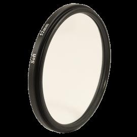 Filtre soft filter 49mm 52mm 55mm 58mm reflet objectif optique photo doux glow