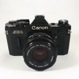 canon ae1 ae-1 noir reflex argentique 50mm 1.8 f1.8 35mm 135 ancien vintage