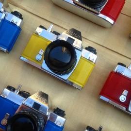 visionneuse ancienne plastique rrr lyon 1980 marché factice appareil photo vintage