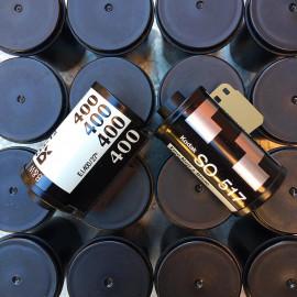 pellicule périmée argentique 35mm noir et blanc kodak so-517 SO Special Order 400 12 poses