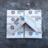 expired film vintage analog ilford fp4 black and white 125 ISO film 120 roll medium format