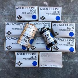 expired film vintage analog agfa agfachrome 50S 50 color slide film 35mm E6