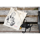tote bag accessories les ateliers de marinette fabric lyon vintage canvas