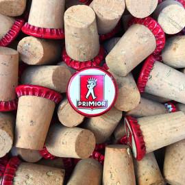 bouchon liège vins primior vin ancien vintage bistrot bar 1960 pub publicitaire