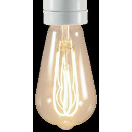 light lightbulb led electricity e27 double loop 5w 280lm 280 lumen 2200k 2200 kelvin