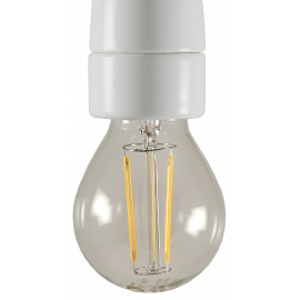 ampoule led E14 380lm 380 lumen petit culot 4w quincaillerie 3000k