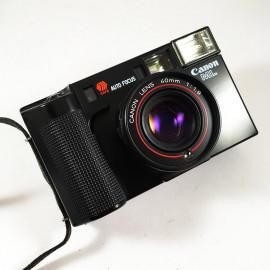 canon af35ml 35ml autofocus point and shoot compact argentique appareil film pellicule 1980 1981 40mm 1.9