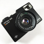 agfa optima sensor 335 electronic agnatar 40mm 3.5 compact analog film camera box