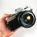 minolta xg9 rokkor mc 35mm appareil argentique ancien 50mm 1.4 reflex auto mode
