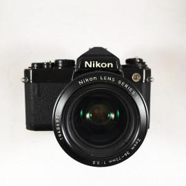nikon fe black nikon lens Nikon Zoom Nikkor 36-72mm 3.5 vintage analog camera reflex