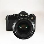 nikon fe noir Nikon Zoom Nikkor 36-72mm 3.5 appareil argentique ancien reflex