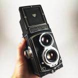 rolleicord rollei schneider kreuznach xenar 75mm 3.5 120 tlr reflex moyen format 6x6 argentique photo photographie bi objectif