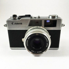 canon canonet 28 40mm 2.8 rangefinder compact 35mm film camera compact