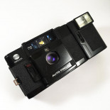 minolta af-c compact 35mm 2.8 point and shoot flash autofocus afc compact analog camera