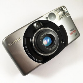 Canon analog camera prima super 105 35mm compact autofocus zoom lens