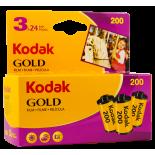 tripack kodak gold 200 35mm pellicule argentique film photo 135 24 poses vintage