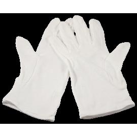 gants de laboratoire en nettoyage coton optique pellicule film appareil paire objectif lentille labo