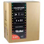 rollei colorchem c41 negative film color processing process kit 5 liters home made
