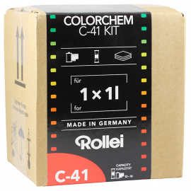rollei colorchem c41 negative film color processing process kit 1 liter 1l home made