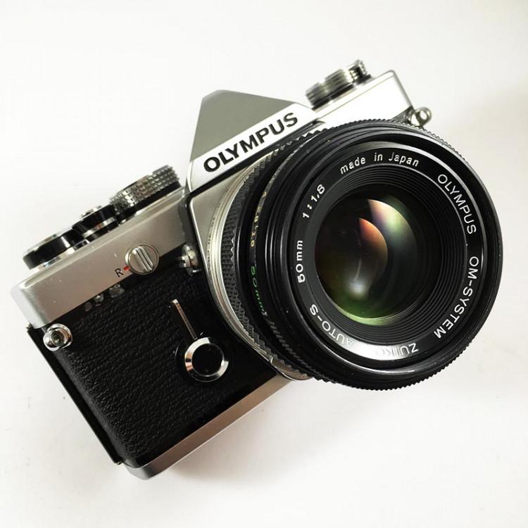olympus om1n om1 chrome 35mm 135 argentique zuiko 50mm 1.8 reflex