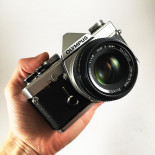 olympus om1 chrome 35mm 135 argentique zuiko 50mm 1.8 reflex