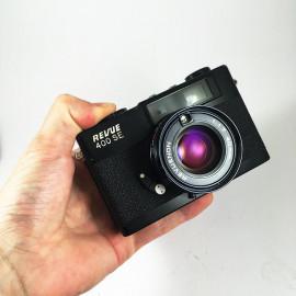 Revue 400 SE 1.7 40mm revuenon télémétrique télémètre compact argentique 35mm 135 pellicule