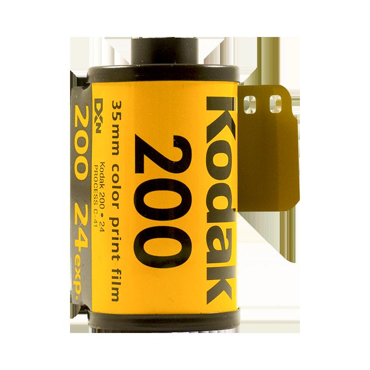 kodak gold 200 35mm pellicule argentique film photo 135 24 poses vintage