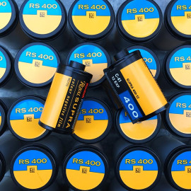 expired film negative color kodak supra royal 400 35mm 135 vintage 12 exposures